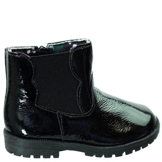 806d0382b Bota Infantil Ortopé Baby Boot Verniz - Preto | Zattini
