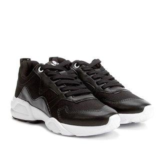 2a7685322a Tênis Chunky Cravo   Canela Dad Sneaker Feminino