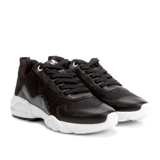e55126664cf Tênis Chunky Cravo   Canela Dad Sneaker Feminino - Preto - Compre ...