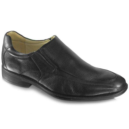 5f2507711 Sapato Anatomic Gel 929246 Couro Brown - Preto | Zattini