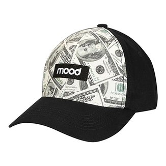Boné Mood Aba Curva 100 Dólares Masculino 3fdc5f76549b5