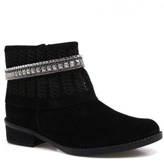 d85df7111 Bota Tanara Ankle Boot Metais