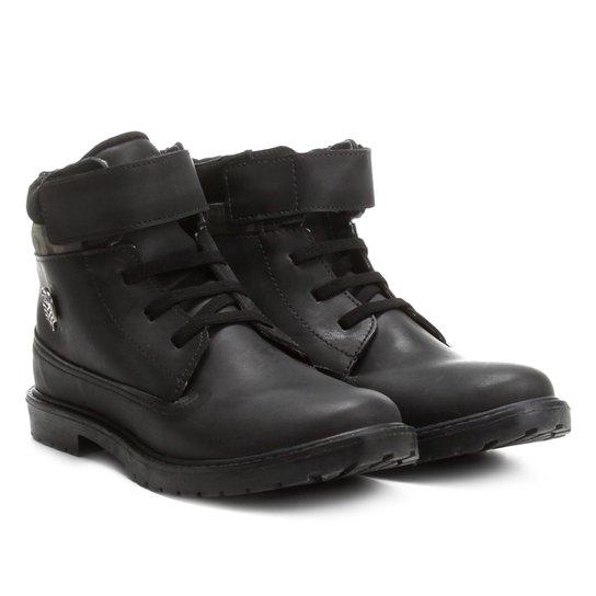dabf25c0450 Bota Infantil Coturno Klin Rock Velcro Masculina - Compre Agora ...