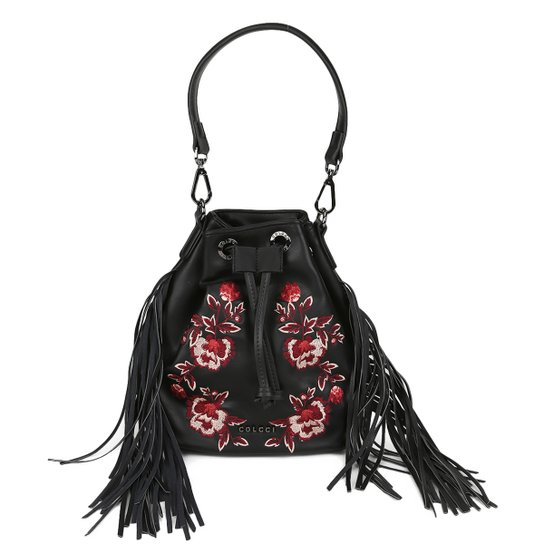 4122825c7b Bolsa Colcci Saco Bordado Floral Feminina - Compre Agora