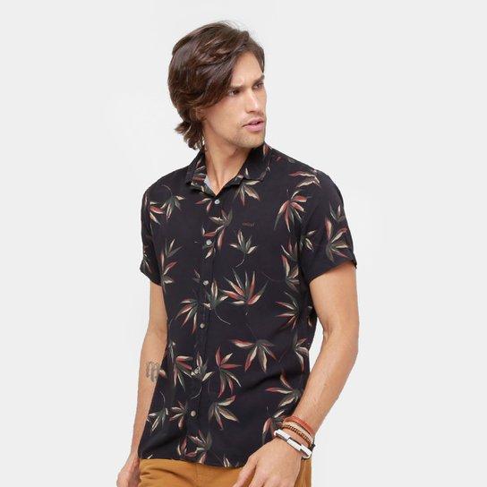 Camisa Colcci Folhas Masculina - Compre Agora   Zattini 35e758b3ce