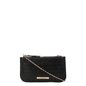 9cd25918c Bolsa Colcci Mini Bag Tiracolo Alça Corrente Placa Feminina