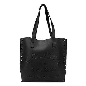 a8a664351 Bolsa Colcci Shopper Tachas Feminina