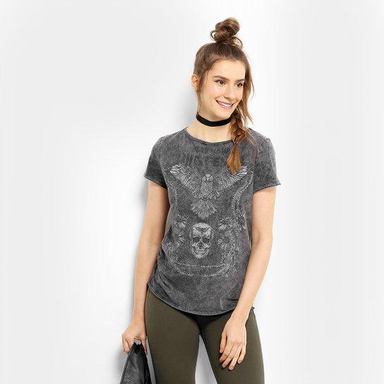 63aa12299 Camiseta Colcci Manga Curta Silk Feminina - Compre Agora | Zattini