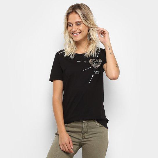 ad9d43ea6 Camiseta Colcci Silk Feminina - Compre Agora | Zattini