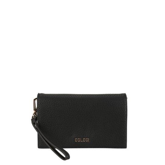 Bolsa Colcci Flap Elephant Feminina - Preto - Compre Agora  10a4f744dda