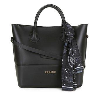 5ac8addad Bolsa Colcci Shopper Toronto Lenço Bandana Feminina