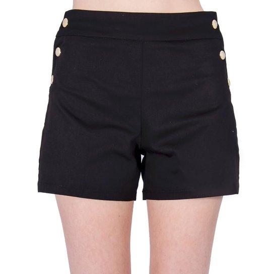 835bc9be5 Shorts Sarja Alfaiataria Colcci - Preto - Compre Agora   Zattini