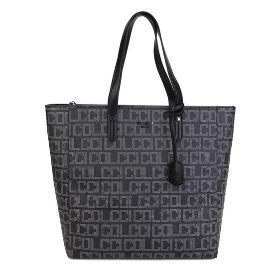 64cc16d1e Bolsa Colcci Shopper Estampa Logo Feminina - Preto | Zattini