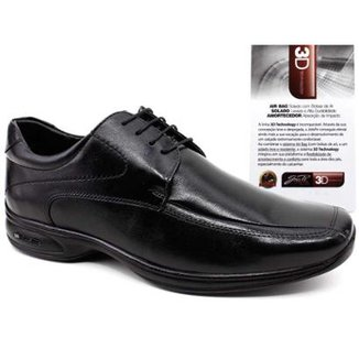 3fb3091e1 Sapato Social JotaPe 3D Vision Tamanhos Grandes Masculino