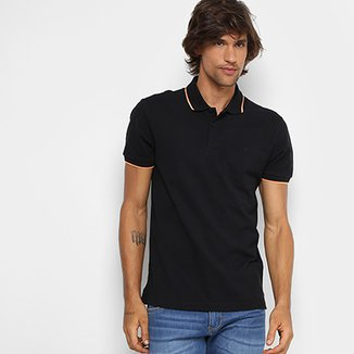 Camisa Polo Forum Piquet Frisos Color Masculina 996b84b1df067