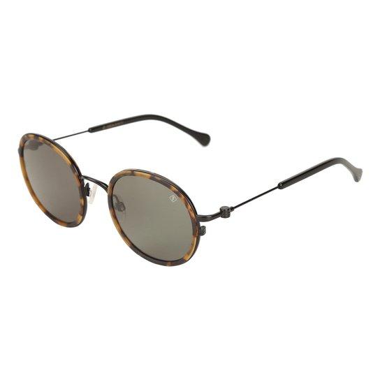 a79282531 ... bf971a3f835cb Óculos de Sol Forum Preto Fosco Feminino - Compre Agora  ...