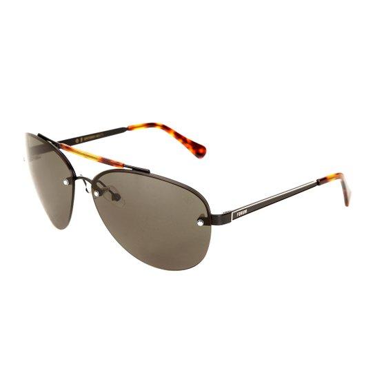 f7c6d19c8 ... 5bad68c66757f Óculos de Sol Forum Tartaruga Masculino - Preto - Compre  Agora ...