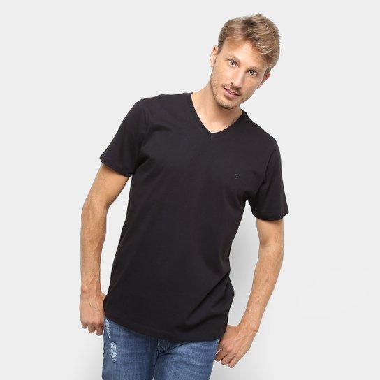08dac100c3 Camiseta Forum Básica Masculina - Preto | Zattini