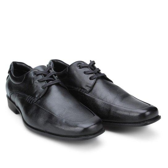 35f05431e Sapato Social Mariner Aston Masculino - Preto | Zattini