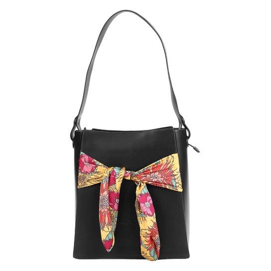 64d8bd6e27 Bolsa Petite Jolie Shopper Bold Feminina - Preto - Compre Agora ...