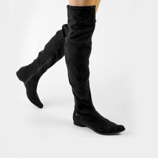 389ea7c68 Bota Capodarte Flat Over knee | Zattini