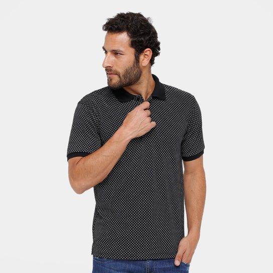 Camisa Polo Broken Rules Piquet Mini Print Masculina - Compre Agora ... b3225dba290fa
