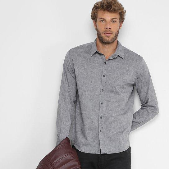 56ab898334 Camisa Ellus Slim Fit Masculina - Compre Agora