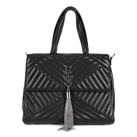 Bolsa Ellus Tote Matelassê Tassel Feminina - Compre Agora  e63d415f9ec