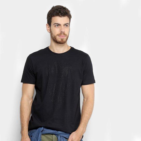 ad10cb8b5 Camiseta Ellus Estampada com Brilho Caveira Masculina - Compre Agora ...