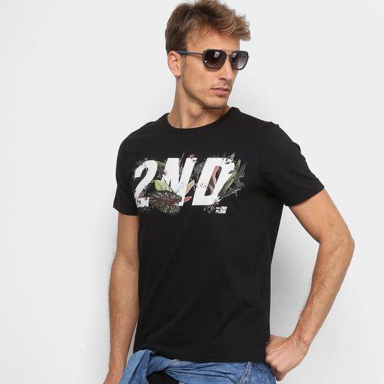 Camiseta Ellus 2nd Floor Estampada Tropical Masculina - Compre Agora ... 3b0a9d2db45
