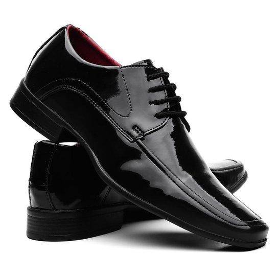 5fb2d88d3 Sapatos Social Vr Verniz Masculino - Preto | Zattini