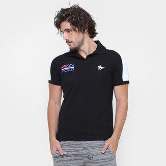 6d8945283fab2 Camisa Polo RG 518 Piquet Recorte Bordado PSXV