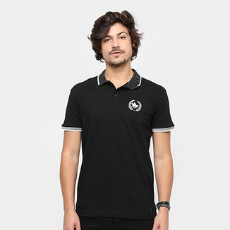 22b1d99be4 Camisa Polo Rg 518 Gola Poá Masculina