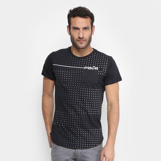 293b3e7ce Camiseta RG 518 Full Print Poá Degradê Com Bolso Masculina - Compre ...