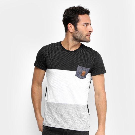 0bdc8ce2186a8 Camiseta Maquinetada RG 518 com Bolso Masculina - Compre Agora