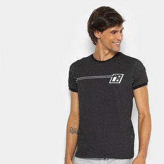 c0d8a7260 Camiseta RG 518 Estampa Listrada Masculina