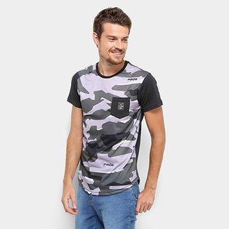 530f24355afac Camiseta RG 518 Camuflada Manga Curta Masculina