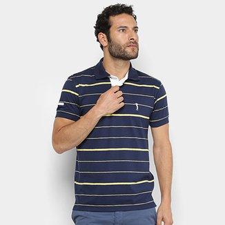 75c728a5fd Camisa Polo Aleatory Listrada Masculina