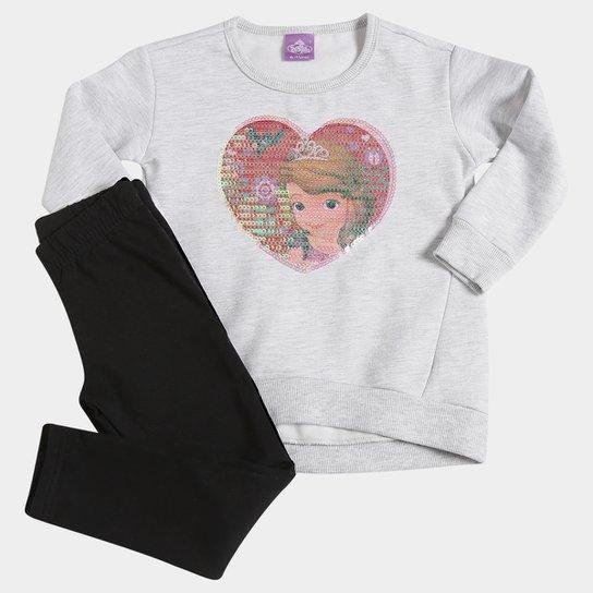 4012996ccc Conjunto Malwee Princesa Sofia Moletom Infantil - Compre Agora