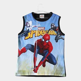 bf4fae0df2b8b Regata Infantil Fakini Spiderman Masculina