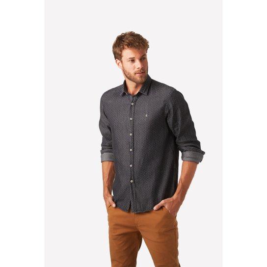 fda459ed5e Camisa Social Foxton Ml Geriba Masculina - Compre Agora