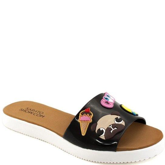 8695b3452bd Chinelo Beach Slide Emoji Sapato Show K3027600208 - Compre Agora ...
