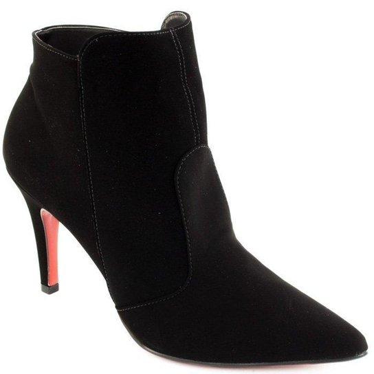 69f173087d Bota Ankle Boot Nobuck Sapato Show - Compre Agora