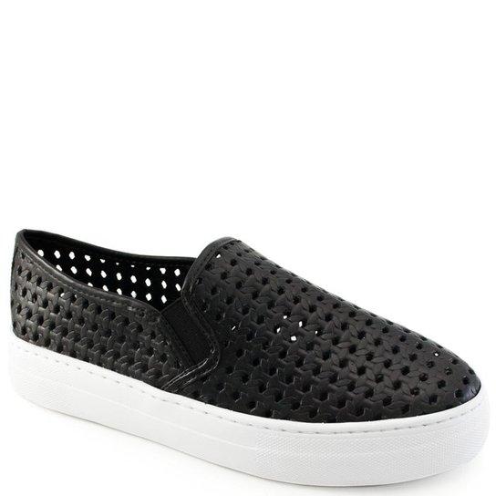 d9aedbfbcba Tenis Slip On Tressê Vazado Sapato Show - Compre Agora