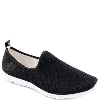 61a00a57a Tênis Sock Sneaker Stretch Sapato Show Feminino