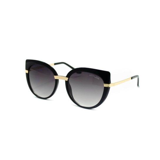 Óculos de Sol Atitude - AT5316 T01 - Preto - Compre Agora   Zattini 2086a636ae