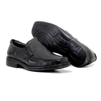 cc130db26c Sapato em Couro com Elastico Quebec Sky Anatomic Masculino