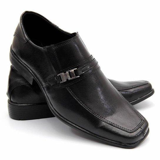 a2959aeec9 Sapato Social Masculino Bico Quadrado Couro Legítimo Garra - Compre ...