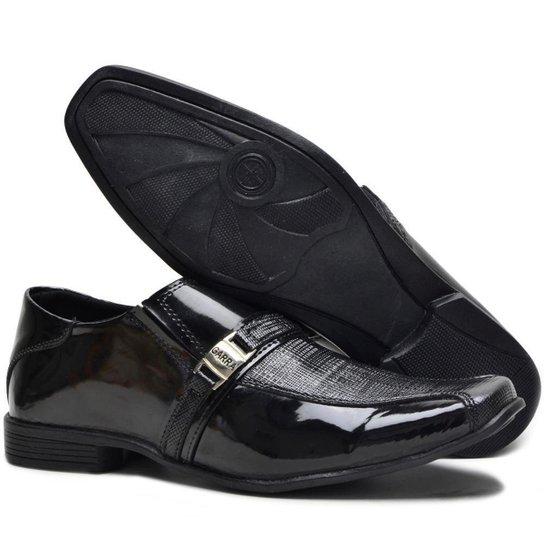 c5bc9cc8e9 Sapato Social Masculino em Couro Garra 910 Verniz - Preto - Compre ...