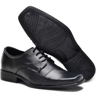6f0a3647e Sapato Social Couro Garra Masculino